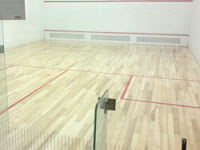 Pista de squash en Puigcerdà
