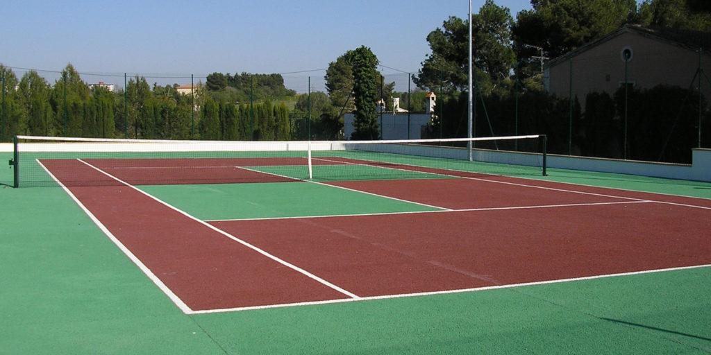 Instalaciones de pistas de tenis