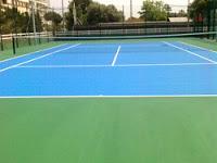 Pista de tenis en Calella