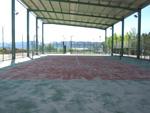 Pista de tenis cubierta en Sabiñánigo