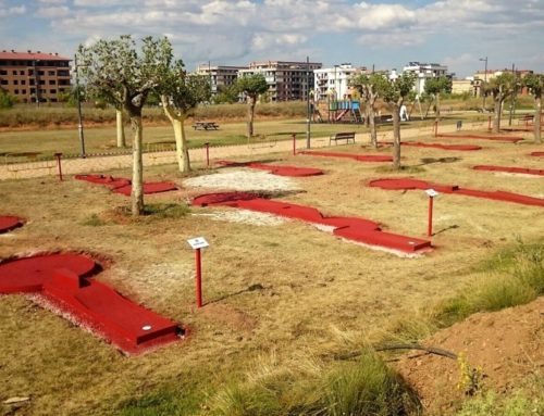 Minigolf en Soria