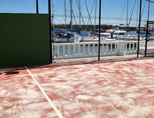 Reforma pavimento en Real Club Náutico del Puerto de Santa Maria.